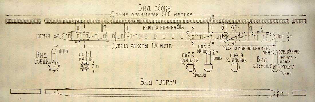 Составная пассажирская ракета