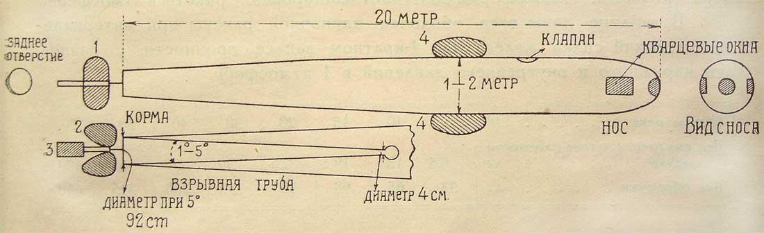 Космическая ракета 1926 г.